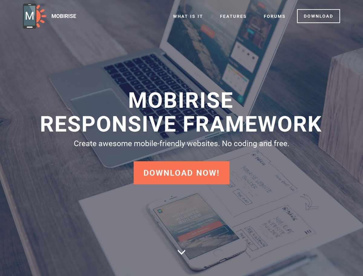 Mobile Responsive  Template