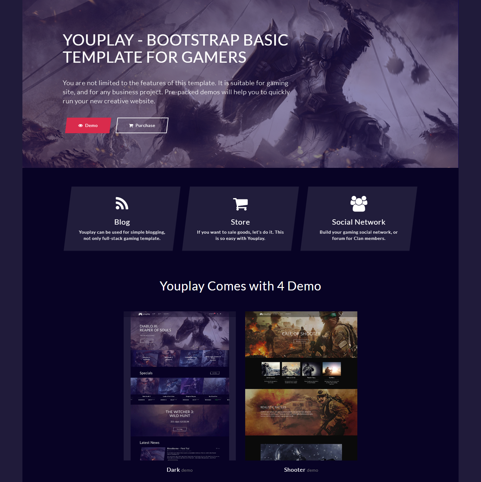 Responsive Bootstrap Basic Themes