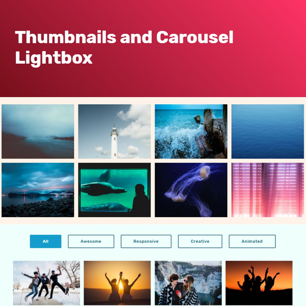 Free Bootstrap Picture Slideshow