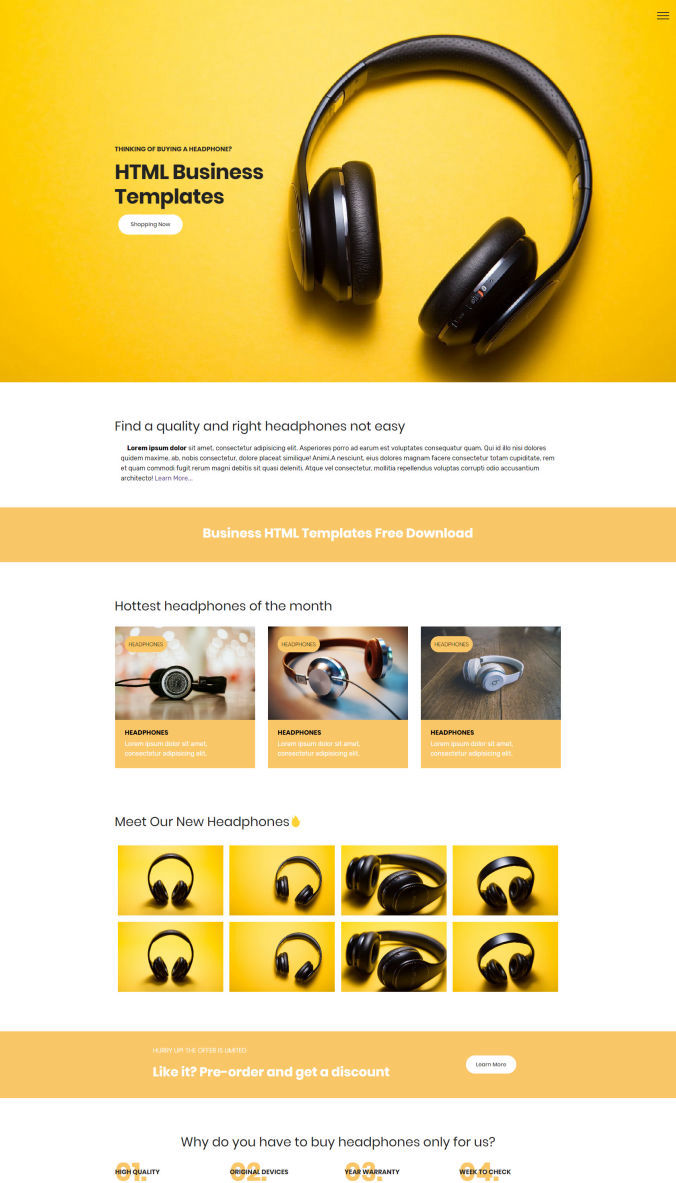 Business Website Template